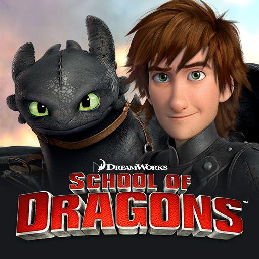 School of Dragons : 驯龙高手 LOGO-APP點子