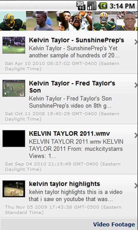Kelvin Taylor - screenshot