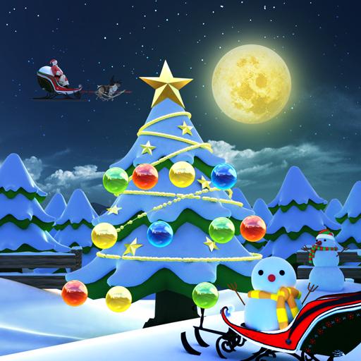 Christmas☆Snow 個人化 App LOGO-APP試玩