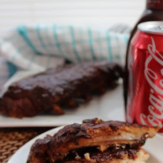 Crock Pot Coke Baby Back Ribs.