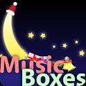 My baby Xmas Carol music boxes logo