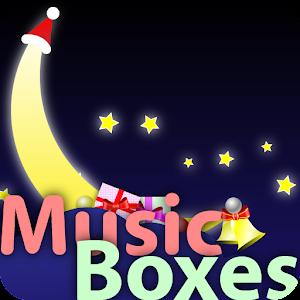 My baby Xmas Carol music boxes