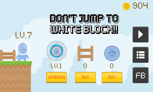 Don't Jump to White Block