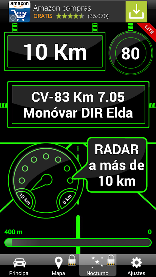 Avisador de Radares LITE - screenshot