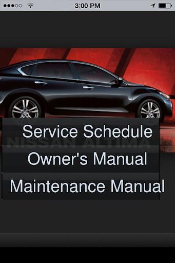 2014 Altima Service Guide