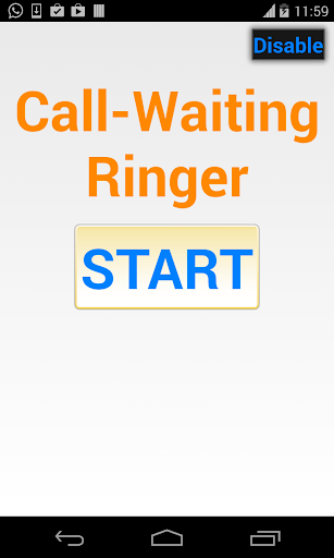 Call Waiting Ringer