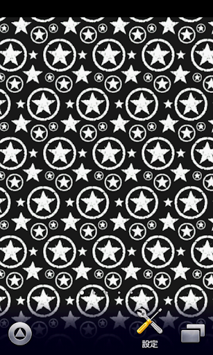 grunge black stars wallpaper
