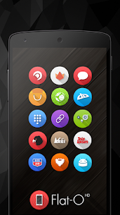 Flat-O Icon Pack- screenshot thumbnail