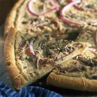 Anchovy and White Bean Pizza