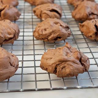 Fudgy Double Chocolate Meringues.