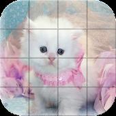 Tile Puzzle - Cats