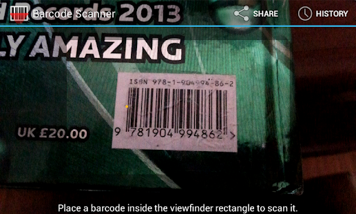Books Barcode Scanner - screenshot thumbnail
