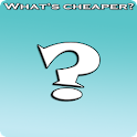 Where is cheaper? logo