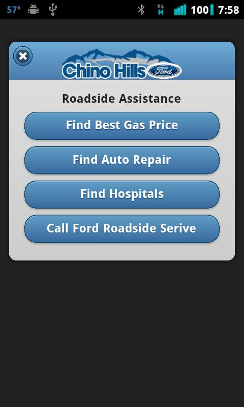 Chino Hills Ford- screenshot