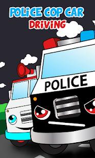 police car games for kids free screenshot thumbnail