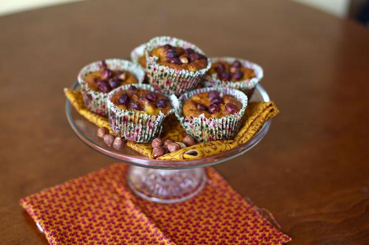 BUTTERNUT SQUASH, APPLE and NUT MUFFINS Recipe