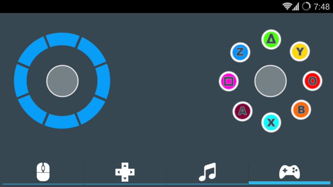 DroidMote Client - screenshot