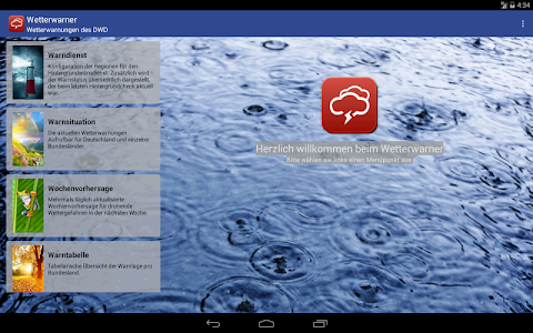 Wetterwarner Pro screenshot 7