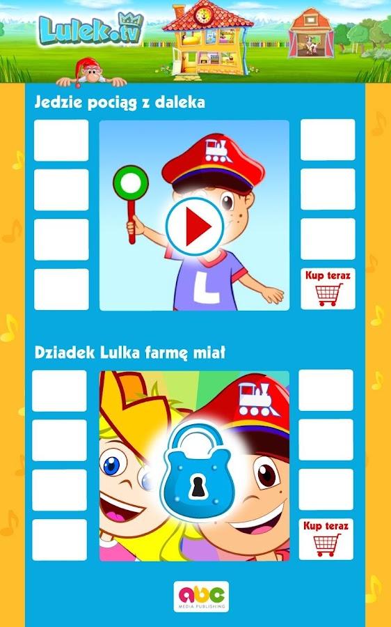 Piosenki dla dzieci Lulek.tv - screenshot
