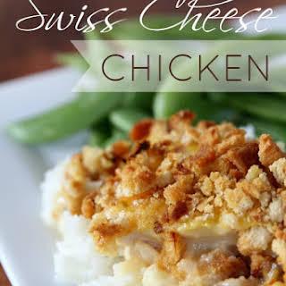 Swiss Cheese Chicken.