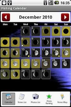 釣りカレンダー (Fishing Calendar)のおすすめ画像3