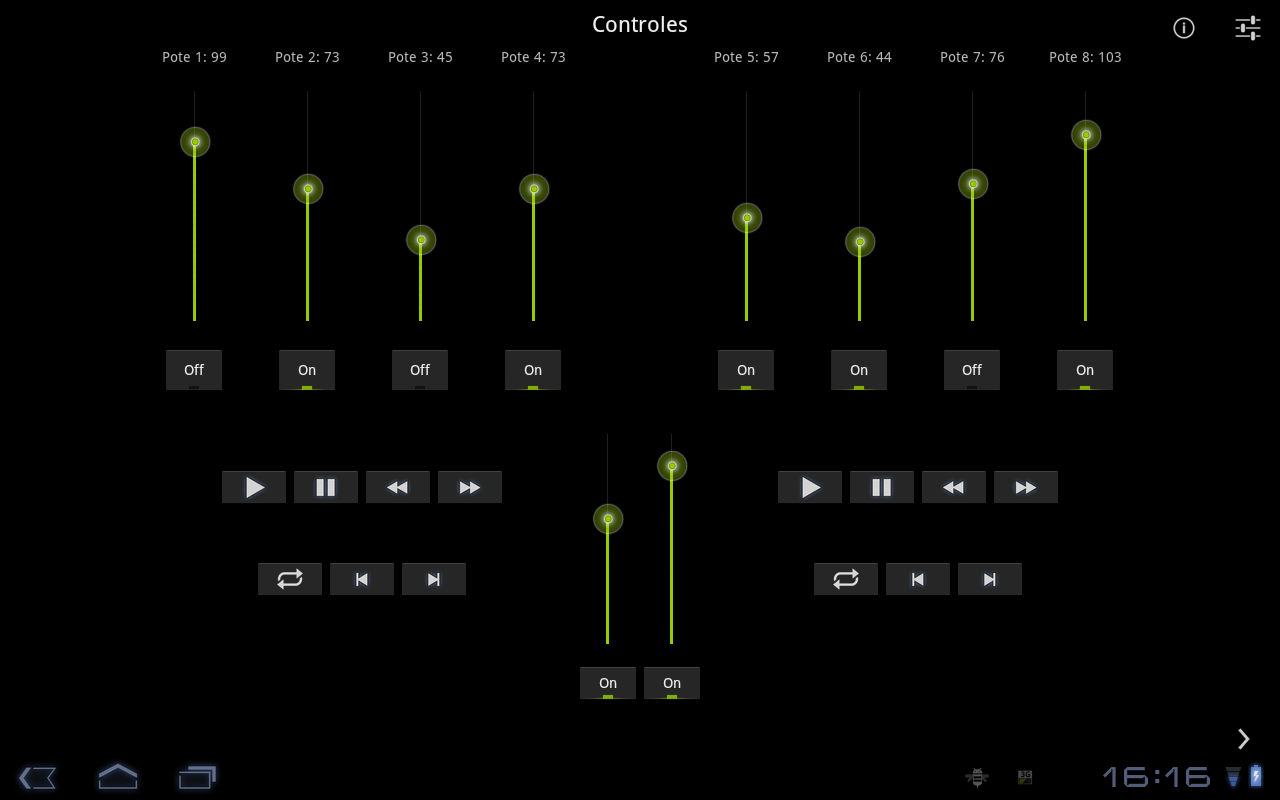 MidiDroide Tablet- screenshot