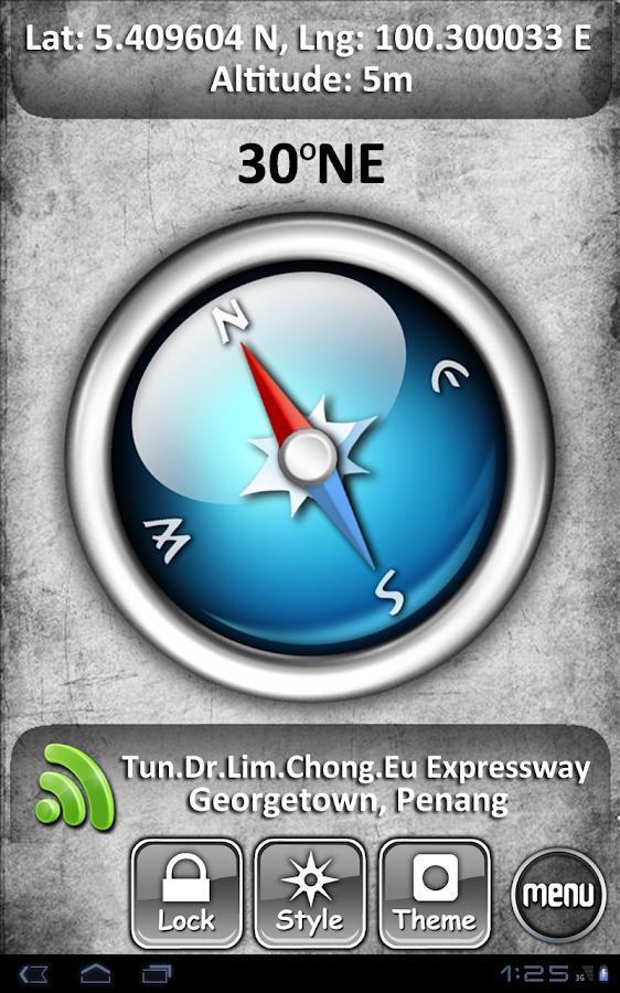 Classic Compass - screenshot