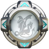 GO Launcher Theme White Dragon