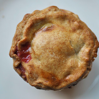 Small Sour Cherry Pies.