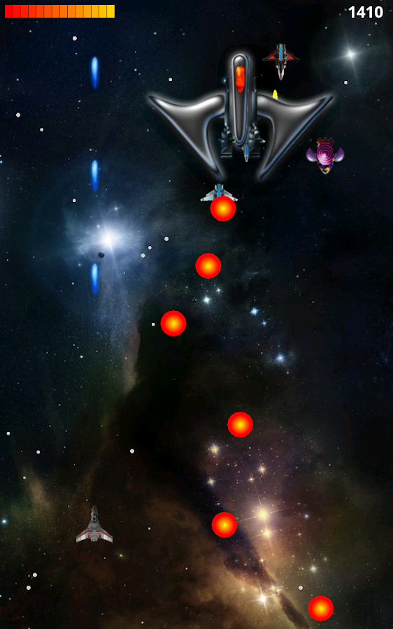 Space War HD - screenshot