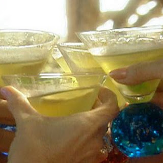Apple Martini with Sour Apple Hard Candy Recipe