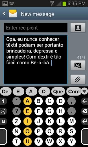 Brasileira dicionário de Dextr