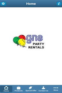 GNS PARTY RENTALS- screenshot thumbnail