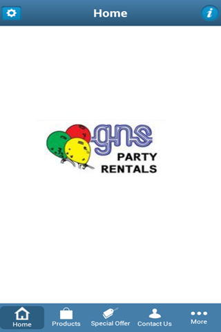 GNS PARTY RENTALS- screenshot