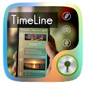 Timeline GO Locker Theme icon