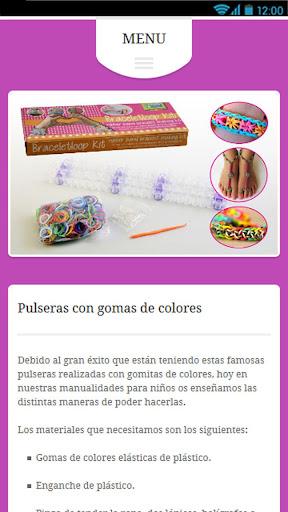Pulseras con Gomas 1.0 screenshots 2