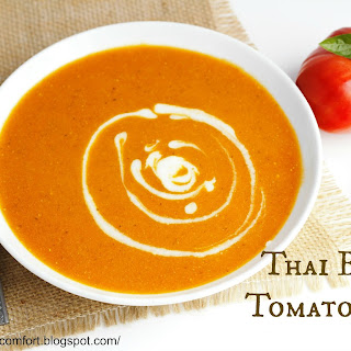 Thai Style Tomato Basil Soup.