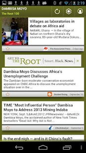 Dambisa Moyo: The Root 100 - screenshot thumbnail