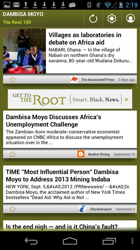 Dambisa Moyo: The Root 100 - screenshot