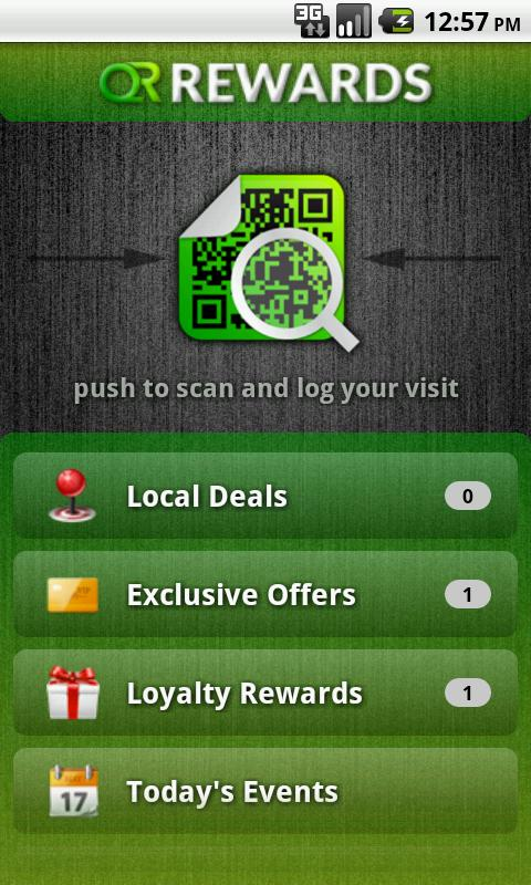 QR Rewards - screenshot