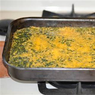 Spinach Casserole.