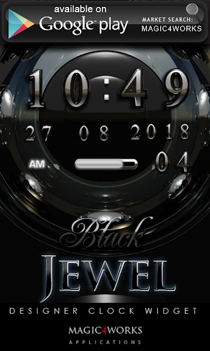 【免費娛樂App】Jewel designer Clock Widget-APP點子