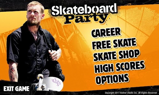 Mike V: Skateboard Party HD Imagen do Jogo