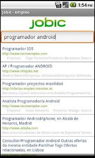 Empleo - Jobic- screenshot thumbnail