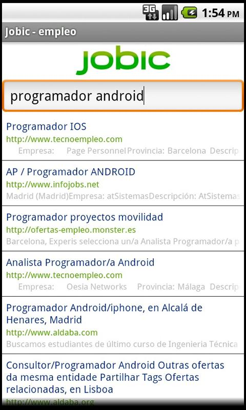 Empleo - Jobic- screenshot