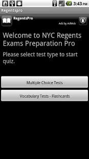 Regents Exams Pro- screenshot thumbnail