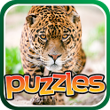 Jungle Cat Free Puzzles icon