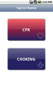 CPR•Choking: miniatura de captura de pantalla