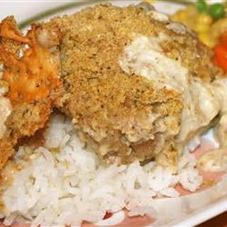 Creamy Garlic Mushroom Chicken.