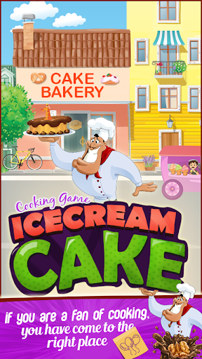 Cooking game ice cream cake